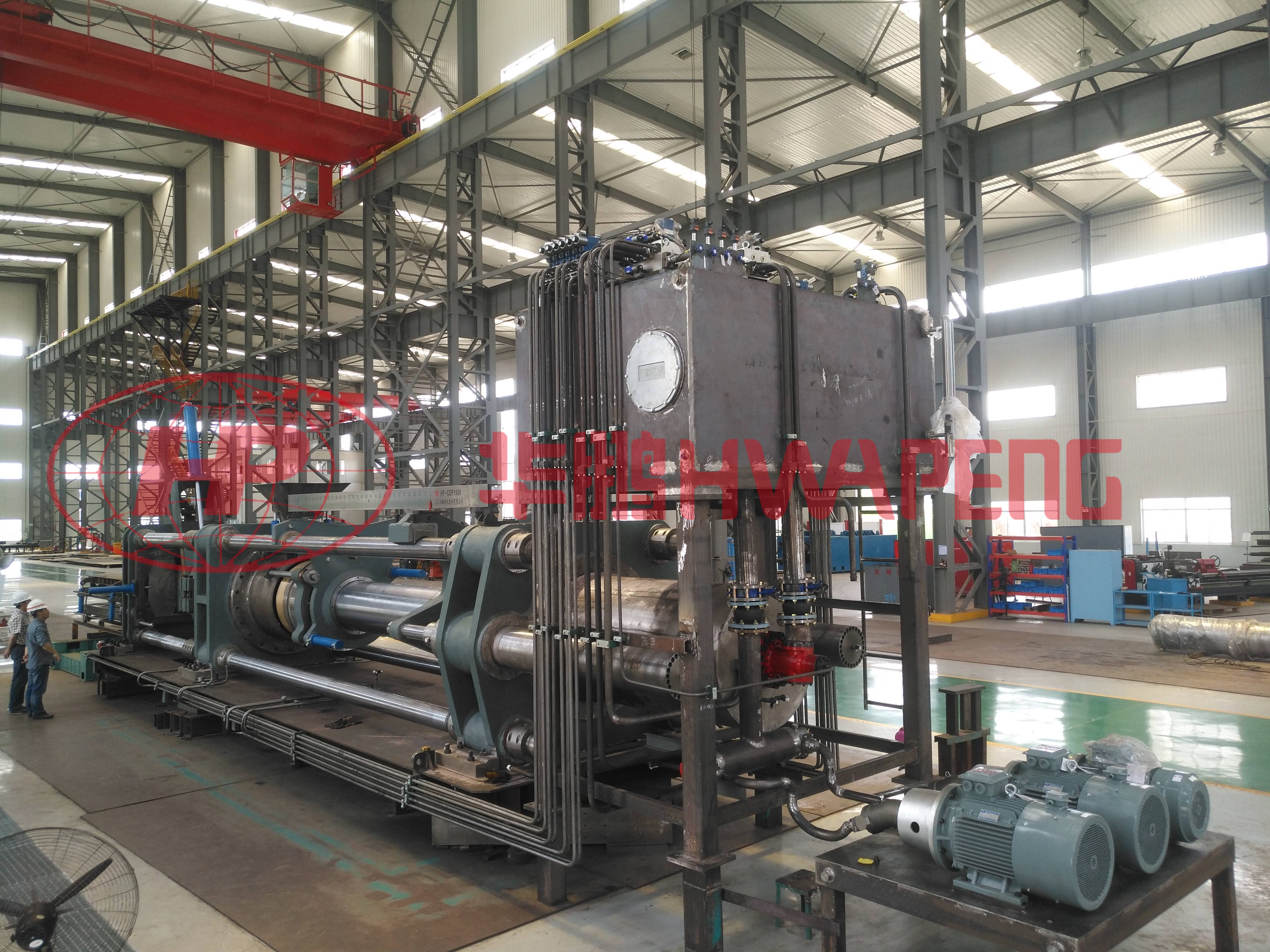 HP-CEP系列炭素挤压机