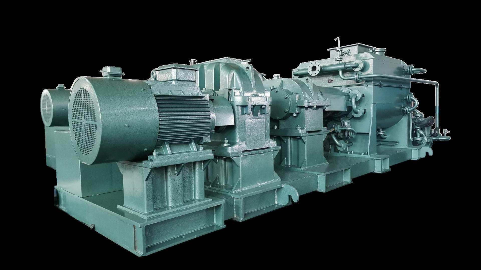 HP-H(H)KC-SG系列特炭高效预热混捏冷却系统