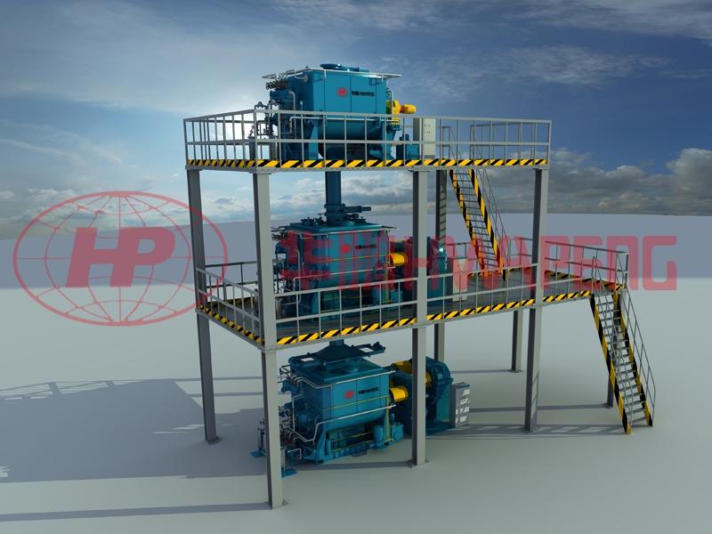 HP-H(H)KC高效预热混捏冷却系统