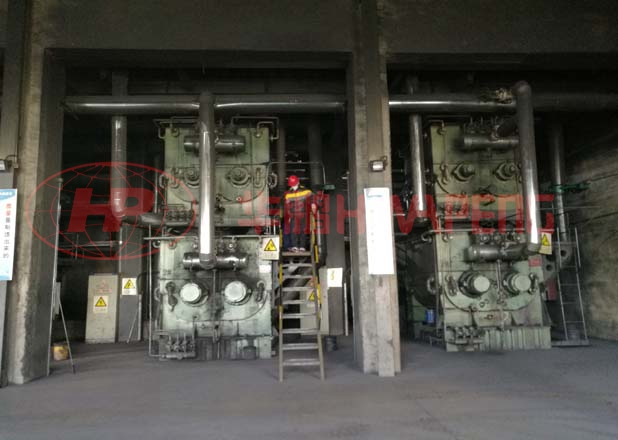 4000L双层预热混捏机在电极糊行业的应用