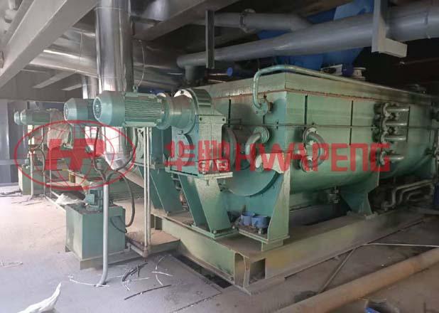 4000L高效预热混捏冷却系统在石墨电极生产中的应用