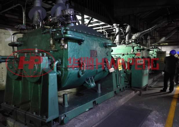 液压翻缸混捏机在特种石墨生产中的应用