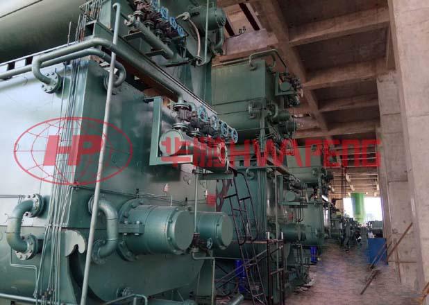 5000L双层预热混捏机在碳电极生产中的应用
