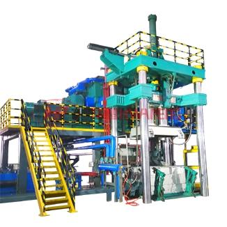 HP-EVC系列四圆柱抽真空加压振动成型机加压振动成型机